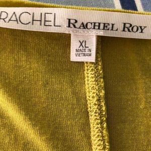 RACHEL Rachel Roy Tops - Rachel Roy chartreuse swing top XL
